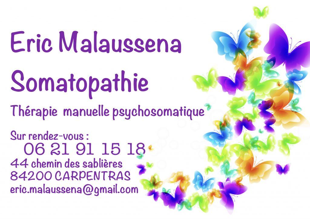 Carte de visite Éric Malausséna